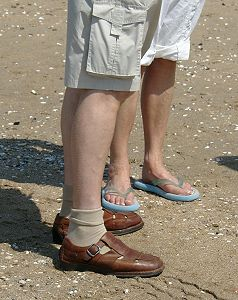 Sandalenmode -so nicht!!