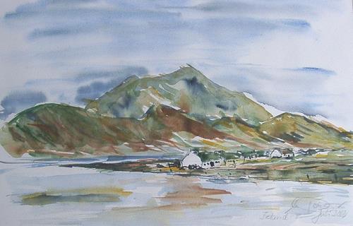 Irland Aquarell 2002
